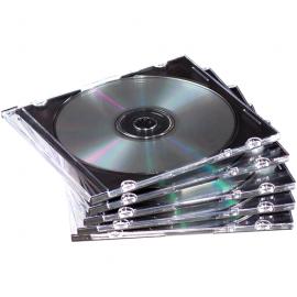 CAJA CD SLIM S/BANDEJA P/1U CRISTAL 98316 FELLOWES