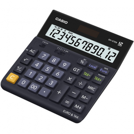 CALCULADORA DE ESCRITORIO 12 DIGITOS CASIO DH12TER