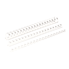 CANUTILLO PVC 21 PASOS 12MM BLANCO