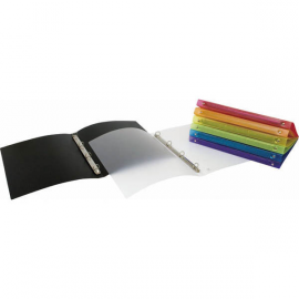 CARPETA 2 ANILLAS TAPA PLASTICO POLIPROPILENO FLEXIBLE 16MM A4 COLORGRAF-GRAFOPLAS 78999810 NEGRO