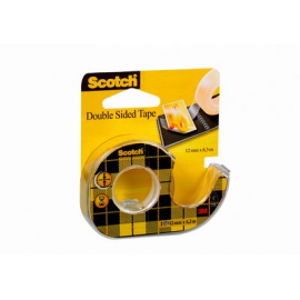 CINTA ADHESIVA D/CARA 6,3X12MM 136D SCOTCH