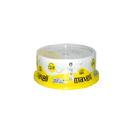 COMPACT DISK PRINTABLE 80M CD-R 700MB 52X BULK/25 M189 MAXELL