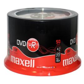 DVD-R PRINTABLE BULK/50 UDS. M180 MAXELL