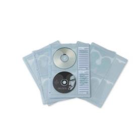 FUNDA CD P/CARP ANILLAS A4 P/4U B/5F 2184 PARDO
